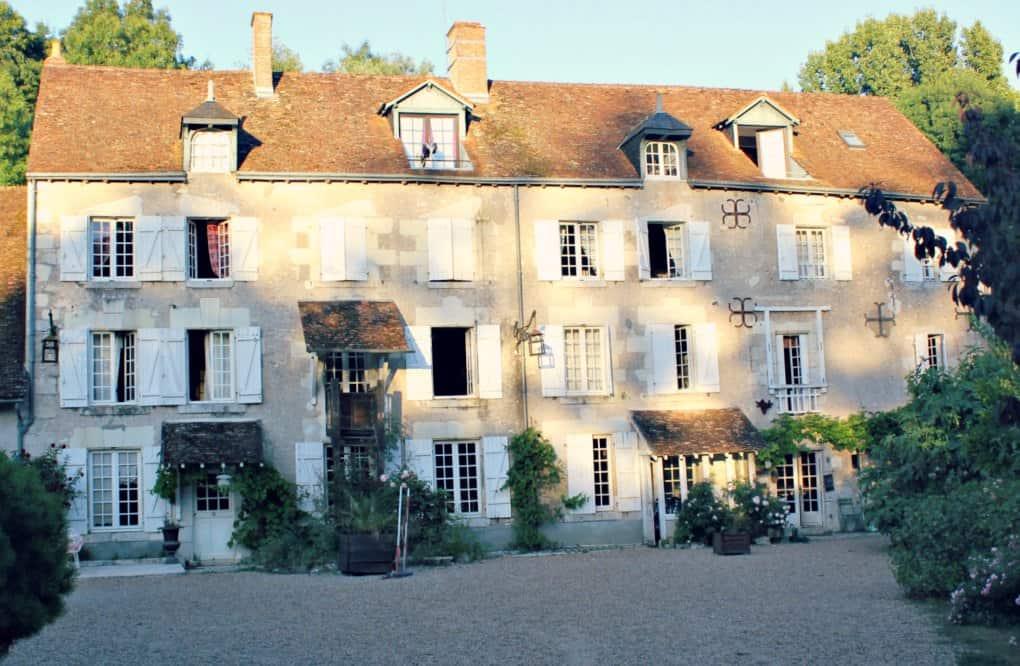 Klimatyczne noclegi we Francji - Młyn nad Loarą