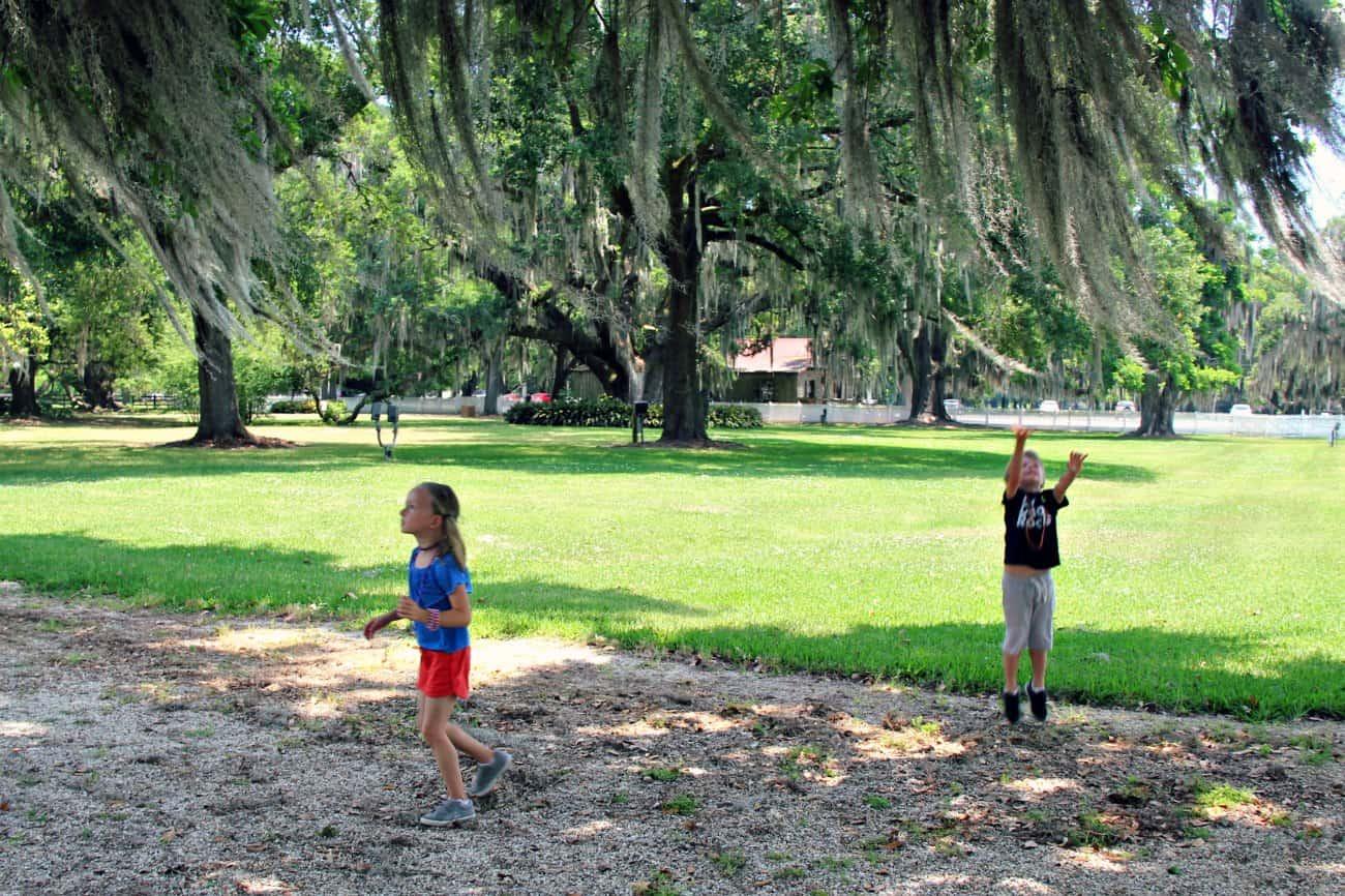USA z dziećmi - Luizjana